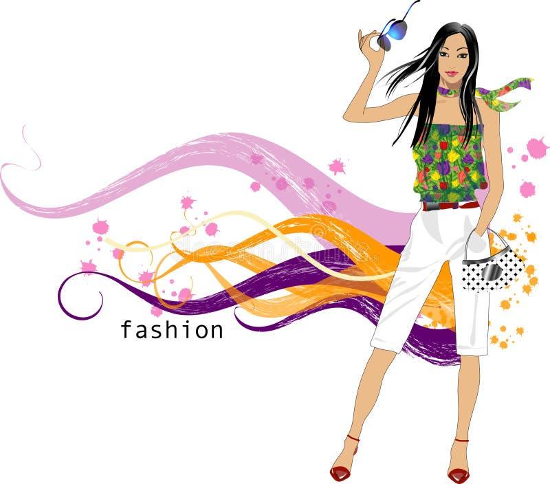 Download Fashion  girl stock vector. Illustration of designs, drawn - 8355445