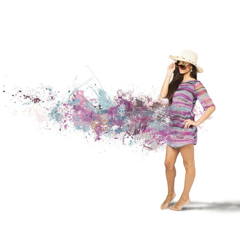 Download Fashion girl stock photo. Image of ocean, nature, liquid - 31222068
