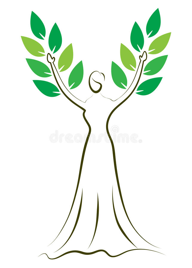 Download Fashion girl tree stock vector. Illustration of girl - 22552731