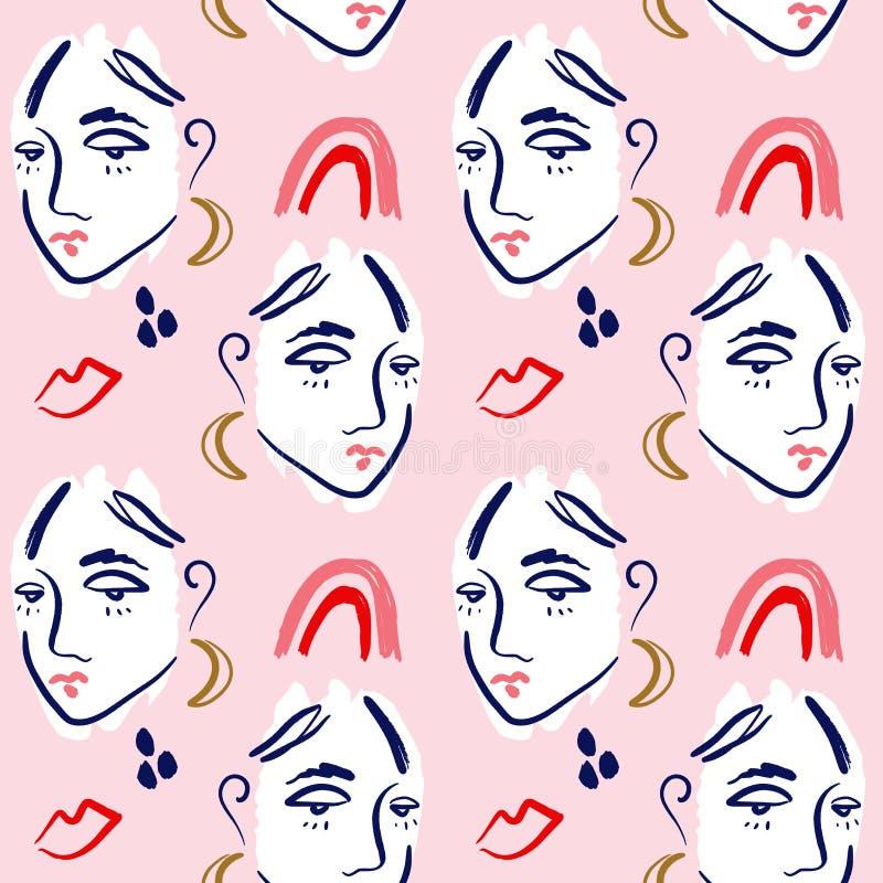 Women S Beauty And Fashion Logo Vector: Aesthetic Fashion Modern Women Stock Vector