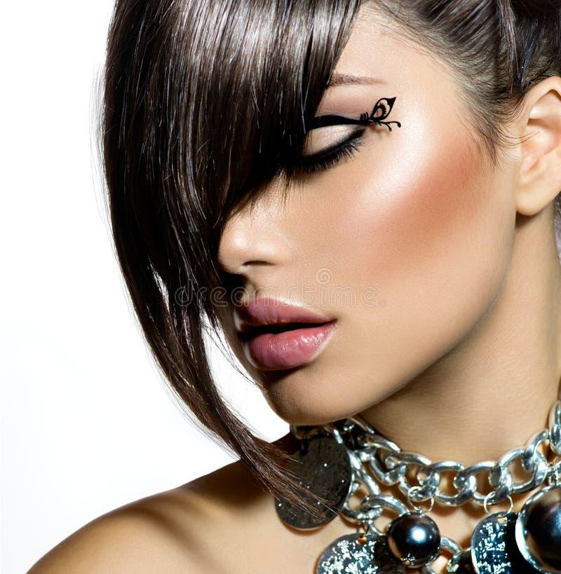 Fashion Glamour Beauty Girl stock photography