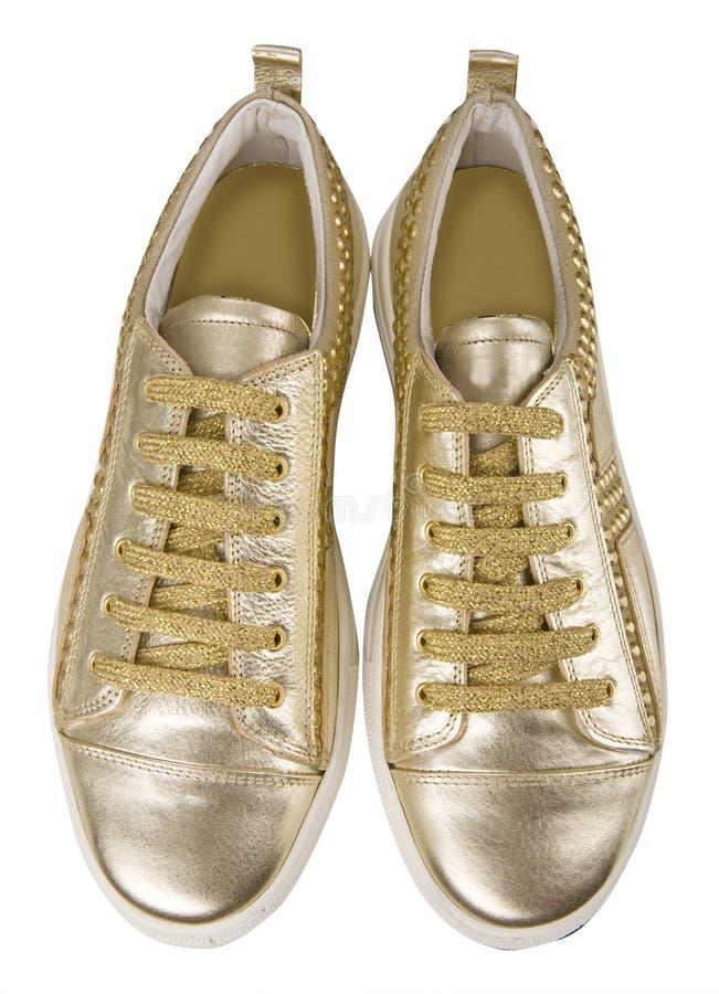 Fashion gumshoes royalty free stock photos
