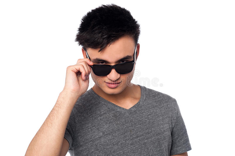 Download Fashion guy staring at you stock image. Image of cool - 31464029