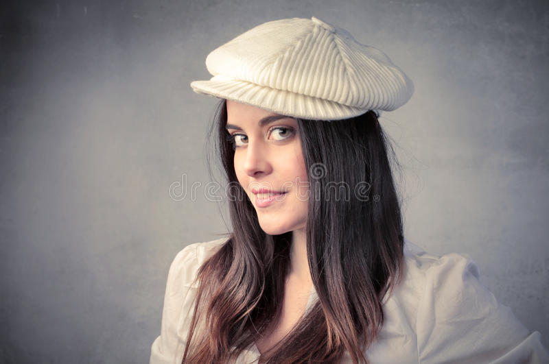 Download Fashion hat stock photo. Image of portrait, young, fashion - 19977414