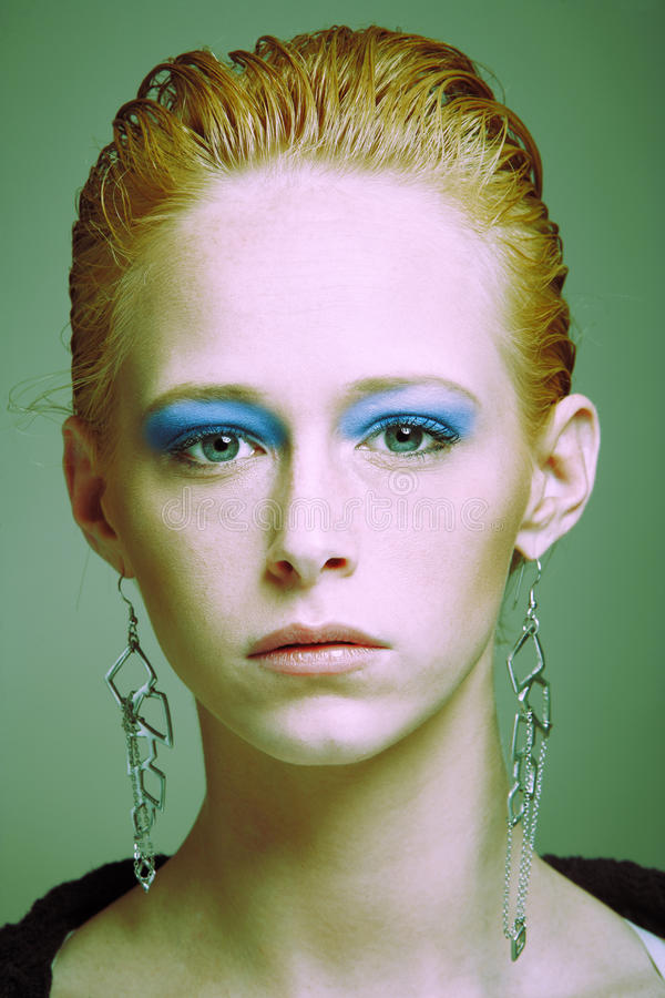 Fashion headshot royalty free stock photos