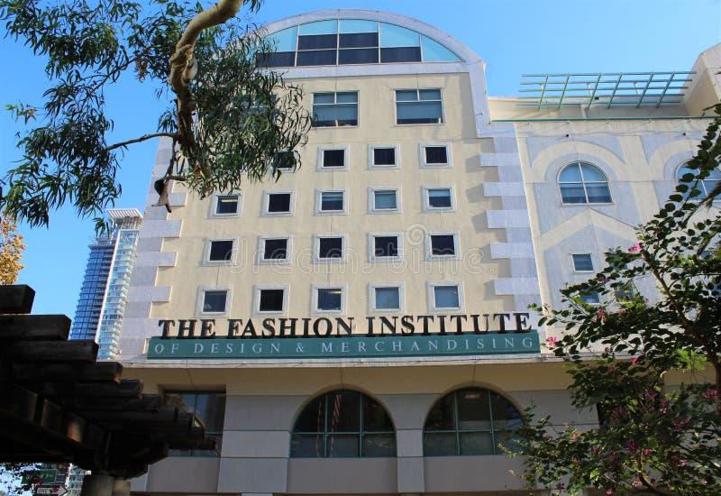 Fashion Institute of Design & Merchandising FIDM i Los Angele, Kalifornien, USA fotografering för bildbyråer