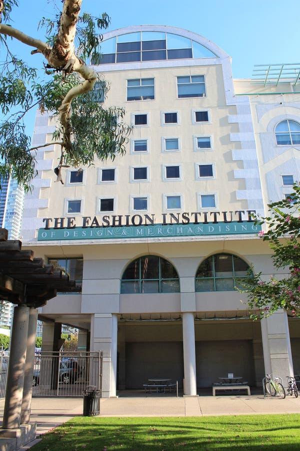 Fashion Institute of Design & Merchandising FIDM i Los Angele, Kalifornien, USA royaltyfri bild