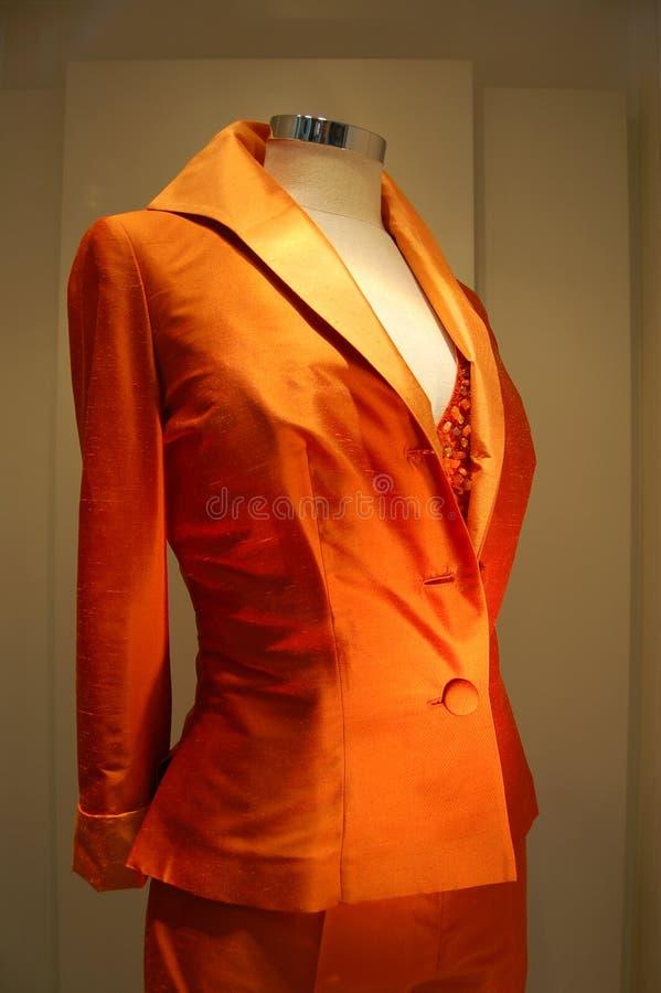 Fashion jacket window stock photo