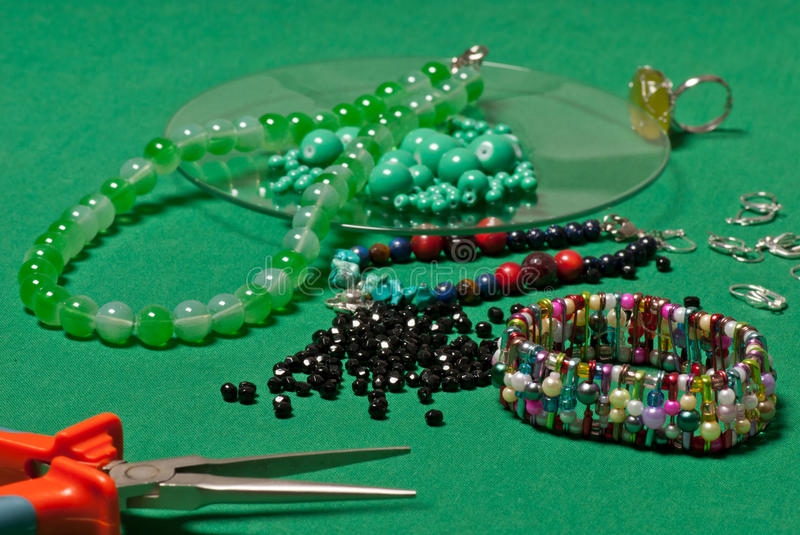 Download Fashion jewellery stock photo. Image of handwork, wire - 26805460