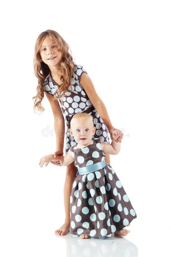 Fashion kids stock images