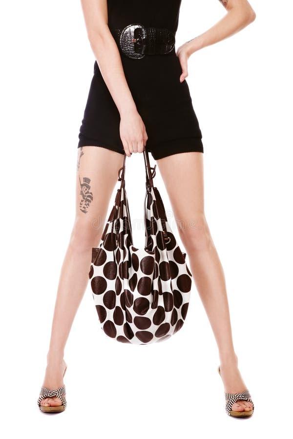 Fashion legs stock photography