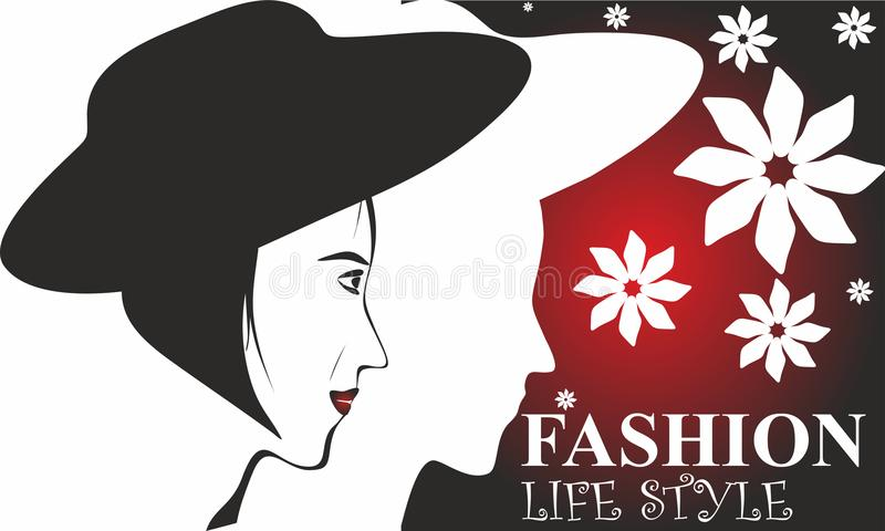 Fashion Life Style, Wallpaper, Web Button, Icons. vector illustration