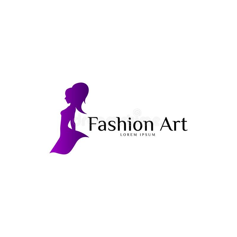 Fashion Logo Vector Art. Template. Business. Fashion Logo Vector Art. Template for Business. Logo Set. Abstract Logo royalty free illustration