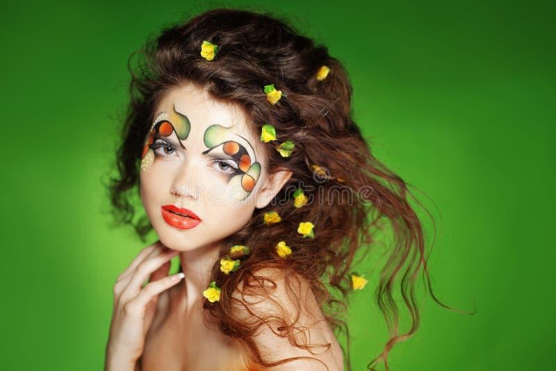 Fashion Make-up Stock Images