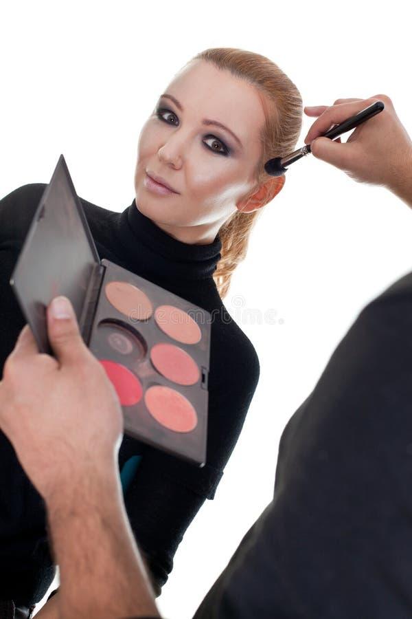 Download Fashion make up stock photo. Image of make, fashion, paint - 28341528