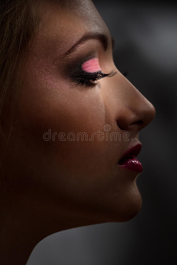 Download Fashion makeup stock photo. Image of health, girl, bright - 32054024