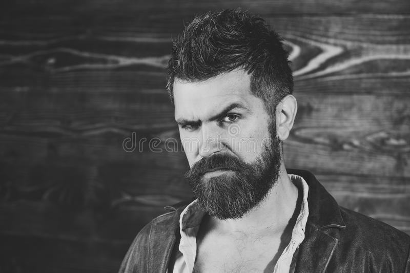 Fashion and male beauty of graying man. Fashion and beauty of serious man, copy space. Fashion and male beauty of graying man. Fashion and beauty of serious man royalty free stock photo