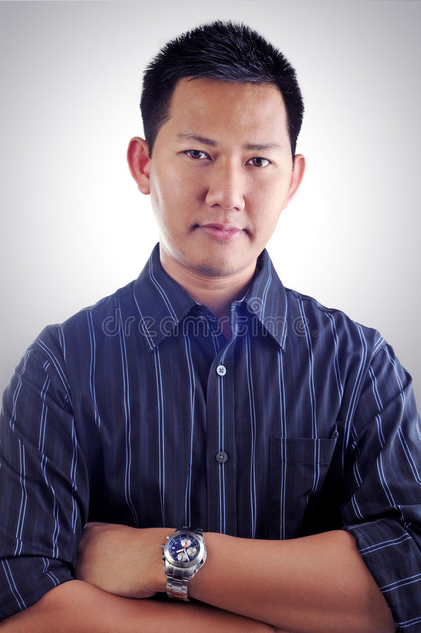Fashion male portrait royalty free stock images