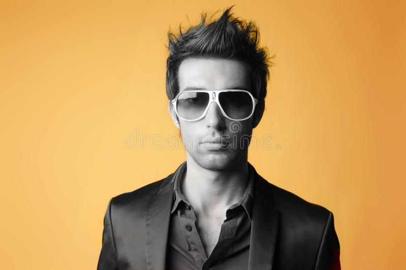 Fashion man stock photos