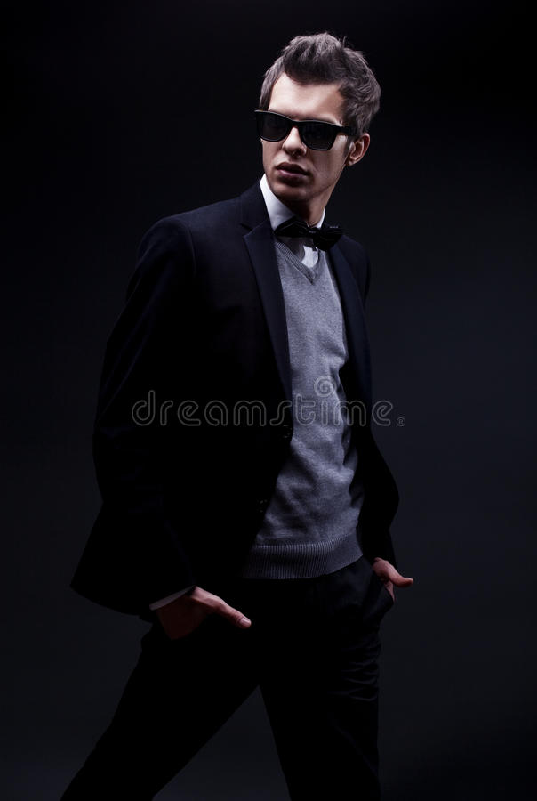 Download Fashion man stock image. Image of masculinity, male, dressed - 12685433
