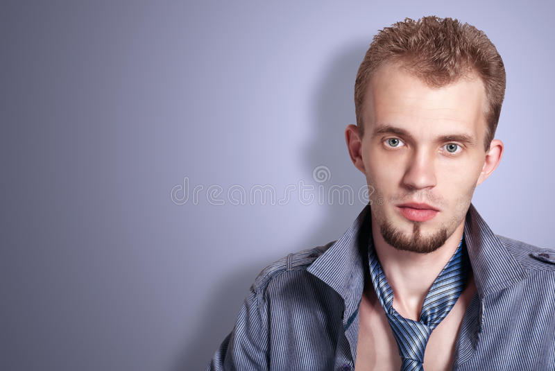 Download Fashion man stock photo. Image of peaceful, face, casual - 26481990