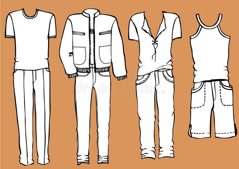 Fashion man's clothes royalty free stock photo