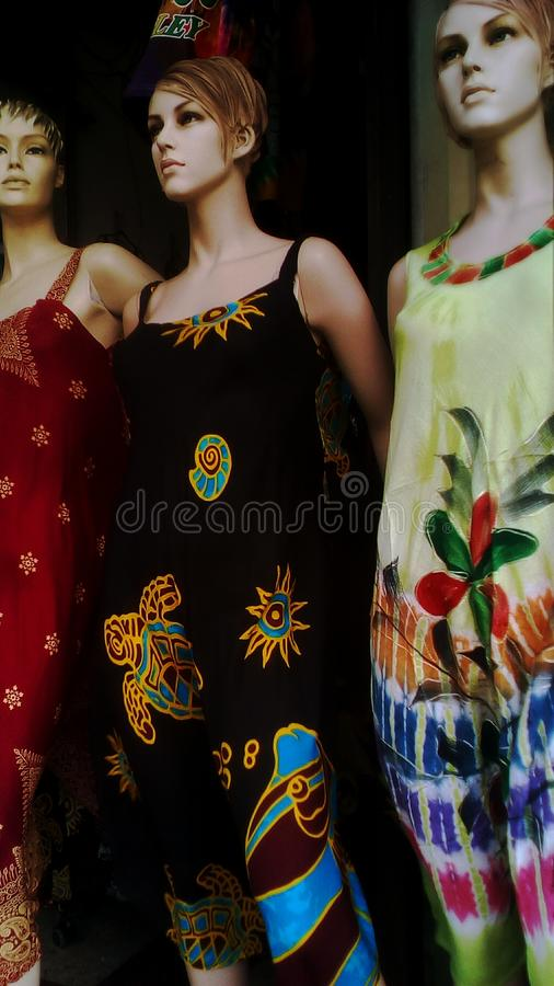 Fashion mannequin stock photo