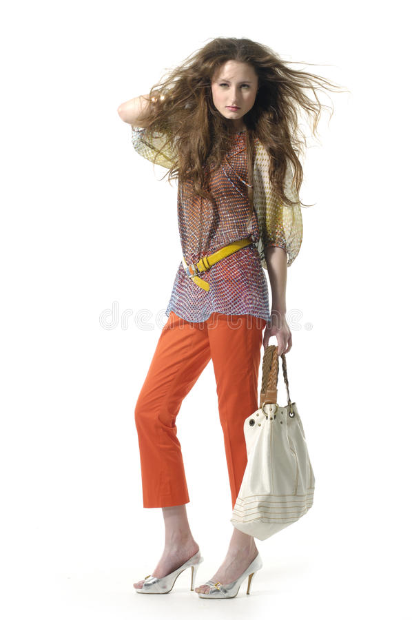 Fashion model stock photography