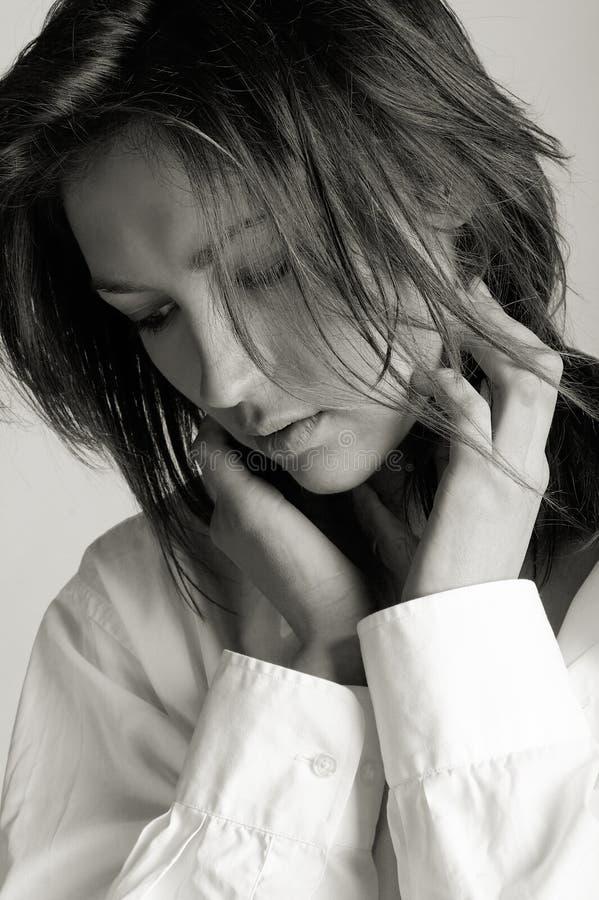 Download Fashion Model stock photo. Image of monochrome, beauty - 2172784