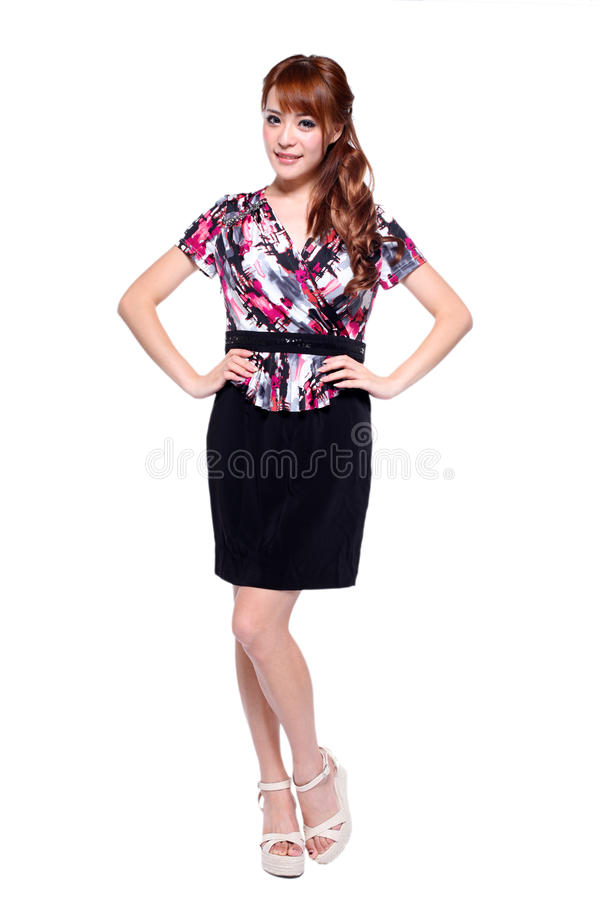 Download Fashion model stock image. Image of grey, beauty, long - 26927283