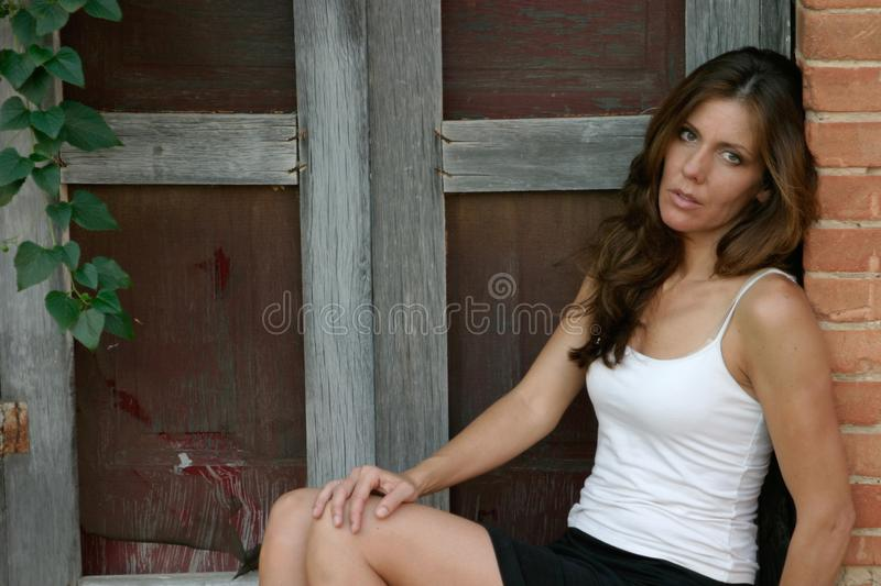 Download Fashion Model 5 stock photo. Image of brown, mode, weathered - 922720