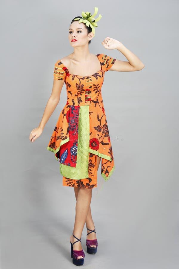 Fashion Model, Clothing, Yellow, Dress royalty free stock image