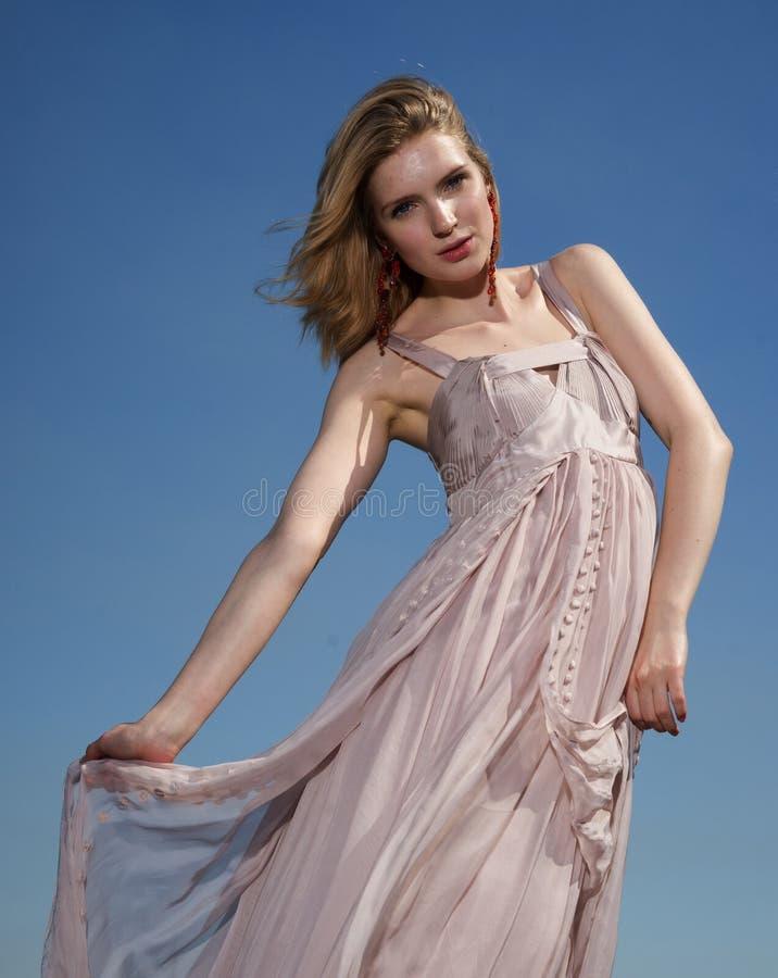Fashion Model, Model, Dress, Supermodel royalty free stock image