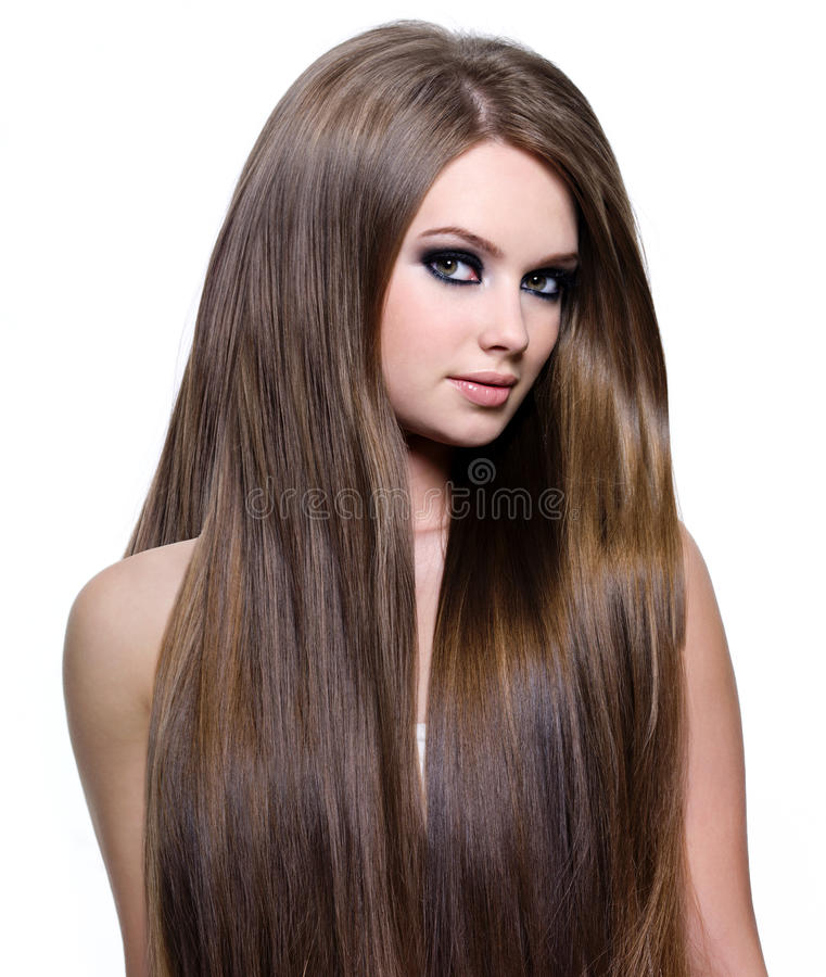 Download Fashion Model With Long Hair Stock Photo - Image: 23367840