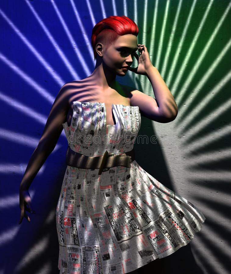 Fashion Model, Music Artist, Performance, Shoulder royalty free stock images