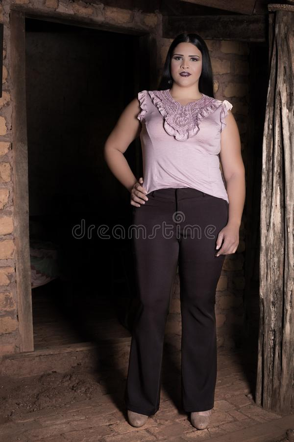 Fashion Model, Photo Shoot, Shoulder, Model royalty free stock image
