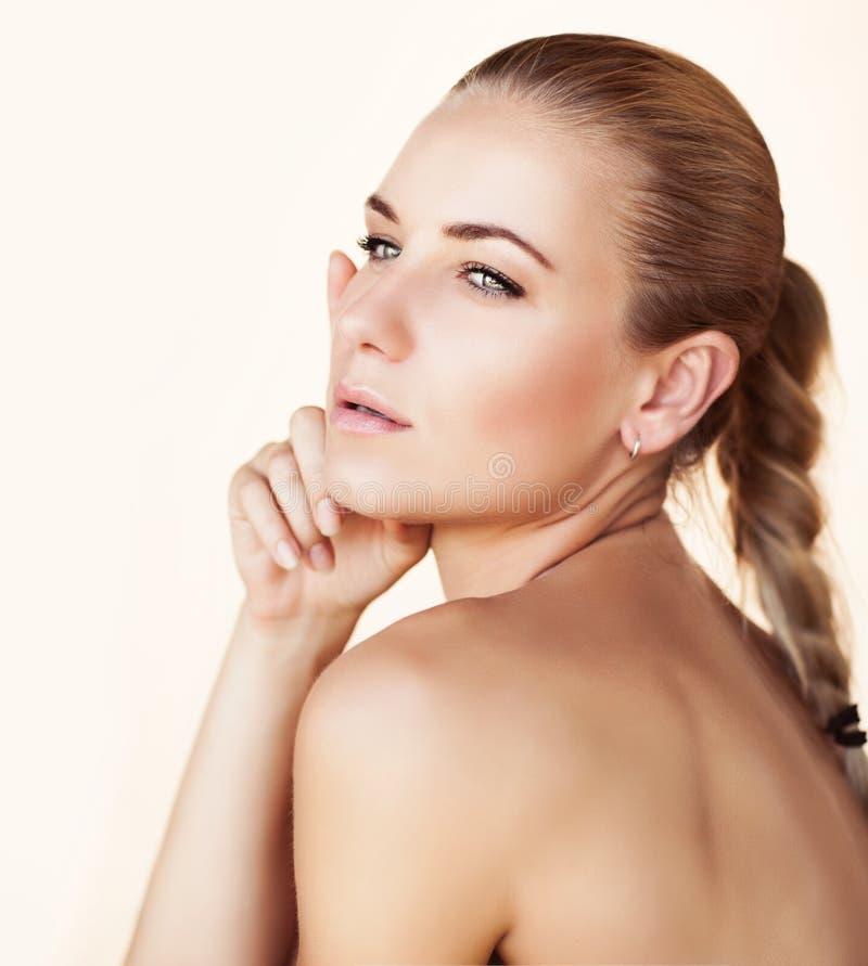 Fashion model portrait stock photos