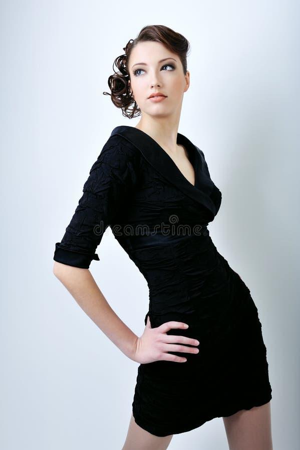 fashion model posing στοκ φωτογραφίες