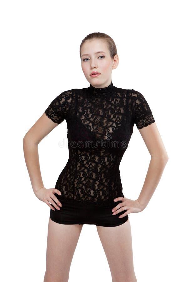 Fashion model posing. royalty free stock image