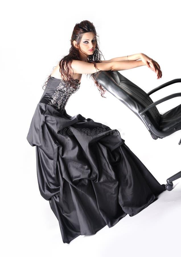 Fashion model posing2 royalty free stock photos