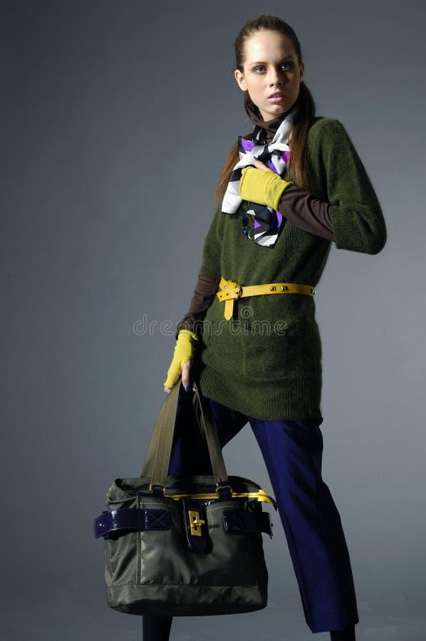 Fashion modellerar arkivfoto