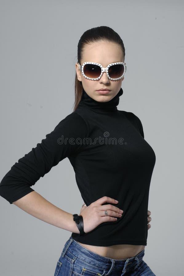 Fashion modellerar royaltyfri foto