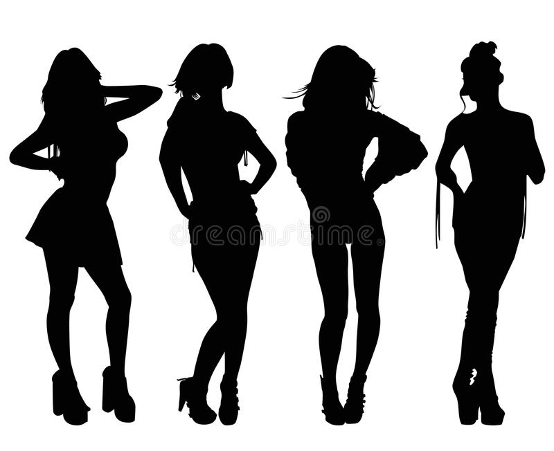 Download Fashion Models stock vector. Illustration of glamour - 26335766