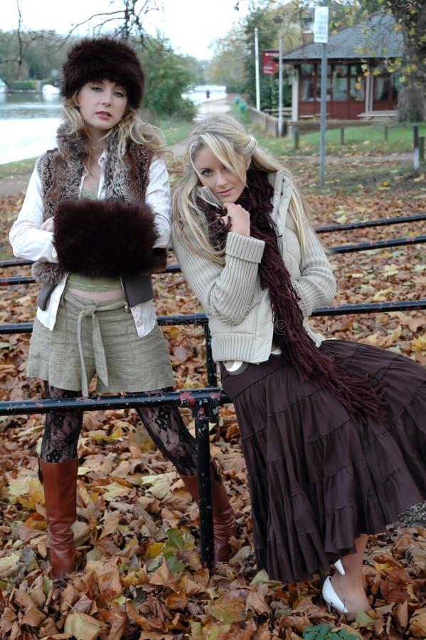 Fashion Models royalty free stock photo