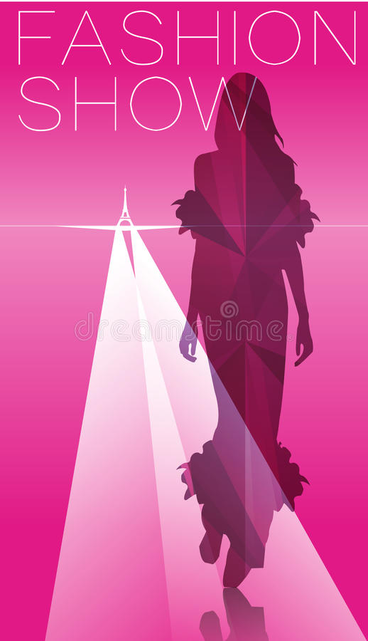 Download Fashion People silhouette stock illustration. Image of show - 35377200