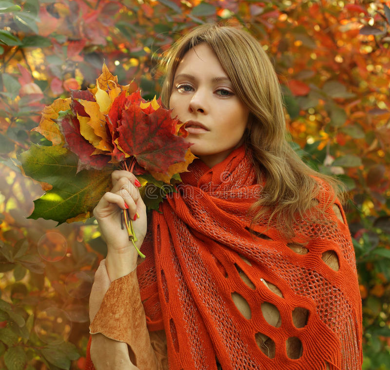 Download Fashion Portrait Of Amazing Woman Stock Image - Image: 27020585