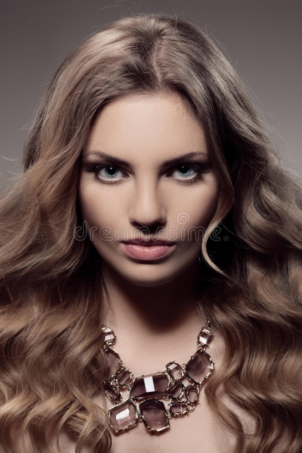 Download Fashion Portrait Of Luxury Woman With Jewelry. Stock Photo - Image: 36109430