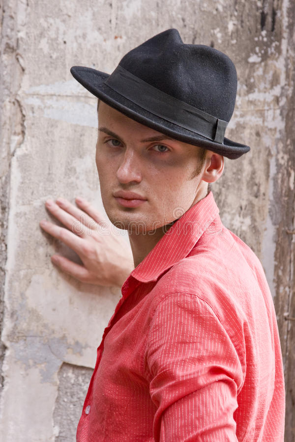 Free Fashion Portrait Of Young Man. Royalty Free Stock Photos - 10453688