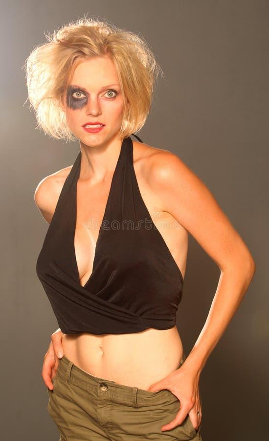 Fashion portraits stock image