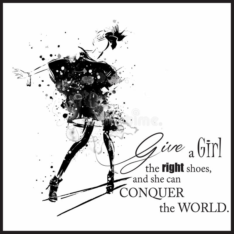 The girl in white dress quote